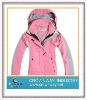 Lady waterproof outdoor jacket