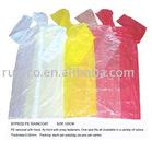 LDPE raincoat 100% new material PE