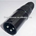 3-pin Double XLR Car USB Aux Battery Connector