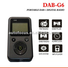 Portable DAB and DAB+ Digital Radio with FM MP3 DAB-G6