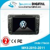 Sharing Digital High Tech Car Radio DVD Player GPS Navigation for VW MK6 2010-2011