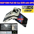 5.0 Mega 1920*1080P Full HD GPS car black box car video recorder