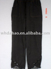 ladies' y/d long leg casual pants