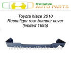 toyota hiace 2010 reconfigure rear bumper cover (limited 1695)
