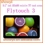 """100% Guarantee Real Superpad NEW 10"""" Google Android 2.3 4GB/8GB/16GB Flytouch 3"""