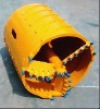 Core barrels with bullet teeth