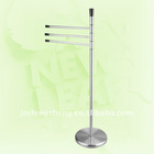 18/0 + 201 3 arms with plastic knob towel holder