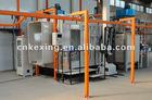 electrostatic powder coating line