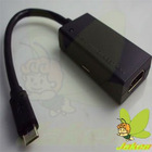 High Quality Black Mirco USB MHL to HDMI Adapter Cable for Samsung galaxy S2,Infuse 4G,HTC G14,Flyer,EVO 3D,Nokia N10