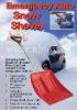 TV 1441 Emergency Auto Snow Shovel/adjustable snow shovel