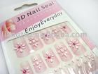3D Nail sticker / nail sticker / nail art sticker