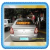 wireless car led sign display