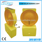 S-1320 solar flashing road warning lights