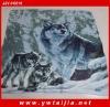 High quality animal printed blanket