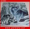 High quality animal printed blanket