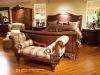 Antique bedroom set,king bed,bedroom bench,wooden hand carved(B50534)