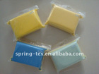 Microfiber sponge with anti-fog purposes