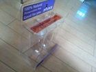 acrylic food candy dispenser