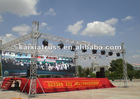 2012 year guangzhou Fair truss and stage canopies,stage, spigot truss