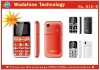 :SOS, STK,WAP,SMS,GPS,Hearing aid,Magnifier,Flashlight,Label machine A nice Mobile Phone with MP3 and FM radio for the old man