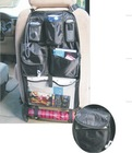 Seat Back Organizer with CD Holder
