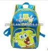 Baby&kids cheap school bags blue Spongebob backpack HS27-BOB