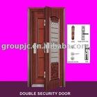 DOUBLE SECURITY STEEL DOOR (MODEL NO.:DD-4)