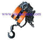 HSZ model manual drive chain hoist(chain block)