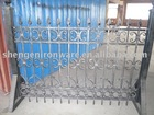 ornamental elegant wrought iron garden edging fence