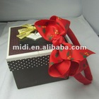 2012 hot sale Christmas hair band with ribbon bow for kids