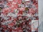 nylon cotton printed lace jacquard mesh fabric