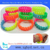 safe twist silicone bracelet for children , cool wristand for students