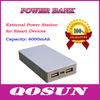 6000mAh universal portable power bank for Smart Devices