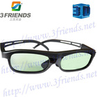 Free shipping active shutter 3d glasses for DLP Link projector