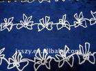 silk fabric 9MM printed pure silk cotton blend fabrics silk cotton