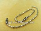 Fashion metal 1.0mm ball chain