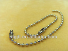 Fashion metal 1.0mm ball chain