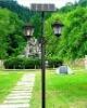 Uding 2011 new design solar garden lamp(saving energy 80%)