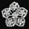 bridal crystal stone brooch