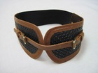 big size braid waist belt