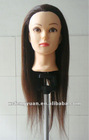 2012 china wholesale female training mannequin head & hair styling head