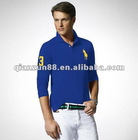 100% cotton fashion men's casual polo shirt