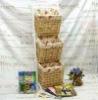 pastoralism storage rack with basket