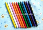 Higher Plastic wax crayons for children