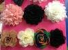 Fashion brooch acrylic satin lace flower brooch BR2306