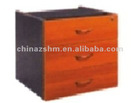 modern wooden fixed pen & file drawer pedestal 464*405*450