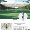 item# HY222W marble base outdoor parasol umbrella