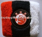 Cotton Wristband With Embroidery Logo
