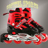New material size adjustable inline skate set