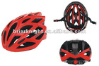 Bicycle helmet for head production, material in black EPS and PVC